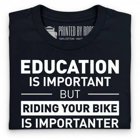 Education biker