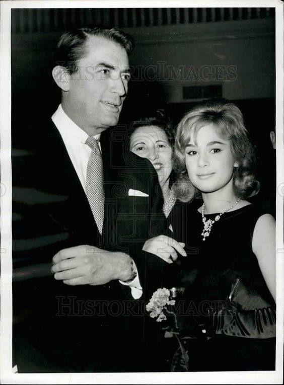 Η Αλίκη Βουγιουκλάκη με τον Gregory Peck