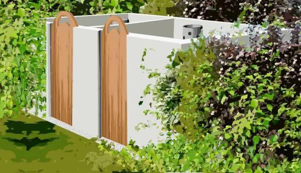 Construire un composteur en parpaing – plan de construction