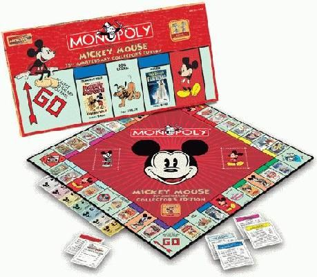 MONOPOLY®: Mickey Mouse 75th Anniversary Edition. Rare, hard to find, brand new in the plastic wrap.