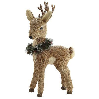 "Natural Standing Reindeer - 18"""