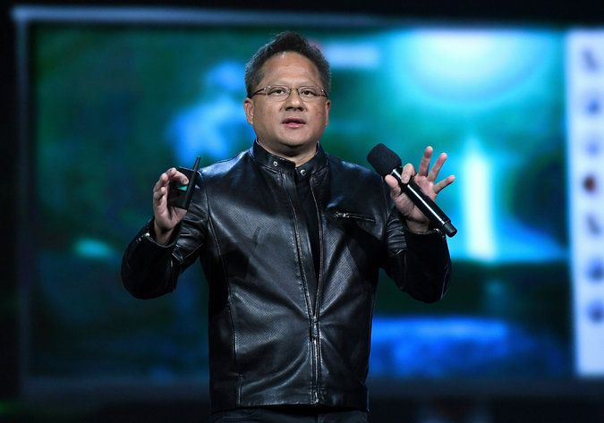 Nvidia's chief executive, Jen-Hsun Huang, made a pivotal bet more than 10 years ago on a series of modifications and software developments to the company graphics processing units, or GPUs.  //  Nvidia, a maker of graphics processing units, is riding an artificial intelligence boom to put its chips in drones, robots and self-driving cars. // Why a 24-Year-Old Chipmaker Is One of Tech's Hot Prospects