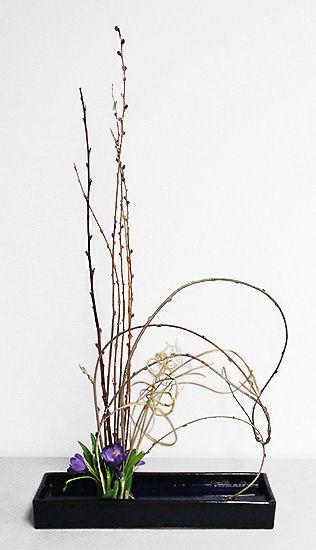 Ikebana Class Leeon 3-7  By  Shirley