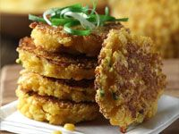 Yellow Split Pea-Cornmeal Griddle Cakes