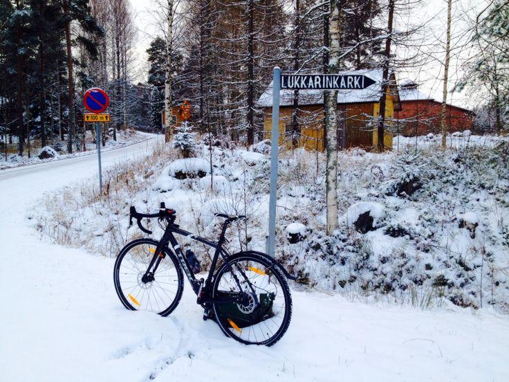 Cycling winter