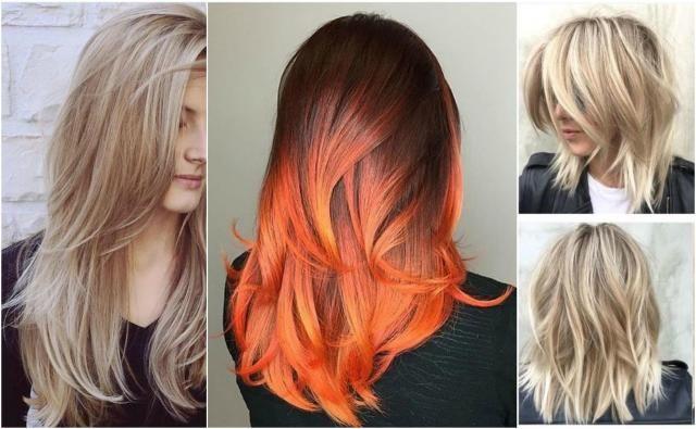 Włosy wycieniowane - Fryzury dla długich i krótkich włosów