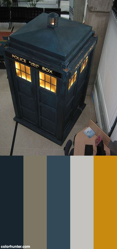 Tardis+Color+Scheme