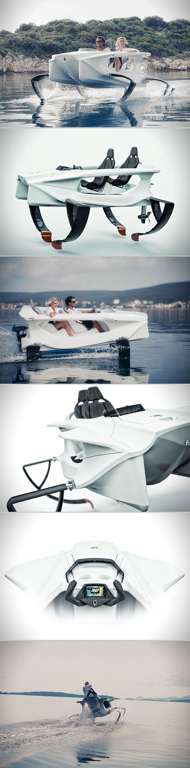331 Best Boats Yachts Etc Images On Pinterest Ships Catamaran Hit Auta 2040 Car Electric Antenna Universal Fitting Quadrofoil Is A Full Personal Hydrofoil Uses C Foil Technology To Fly