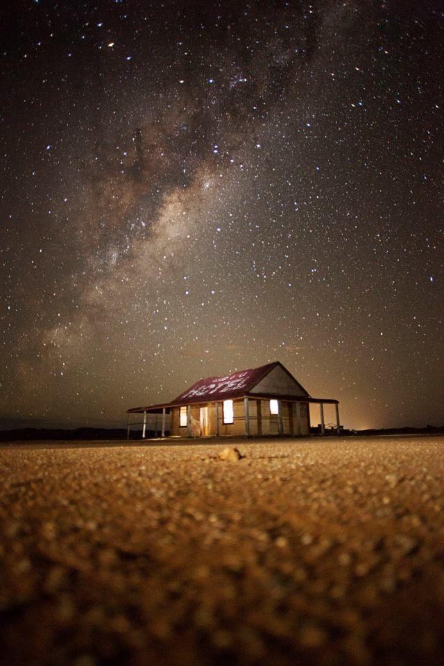 Best place to watch night-sky, Outback Australia  Mundi Mundi plains, just outside Broken Hill, Western NSW.