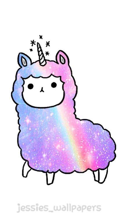 d48fb1e3e Llamacorn Pastel Galaxy, Rainbow Galaxy, Fruits Kawaii, Cartoon Llama, Cute  Animal Drawings