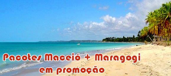 Pacotes imperdiveis para Maceió e Maragogi com 60% de desconto #pacotes #viagens #nordeste