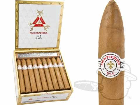 Montecristo White Label #2 Torpedo 6 1/8 x 52—Box of 27 - Best Cigar Prices