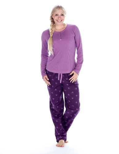 Womens Cotton Flannel/Thermal Loungewear Set - Swan Purple - Large Noble Mount,http://www.amazon.com/dp/B00F2T51C6/ref=cm_sw_r_pi_dp_TFzdtb1PB7XMYHZ5