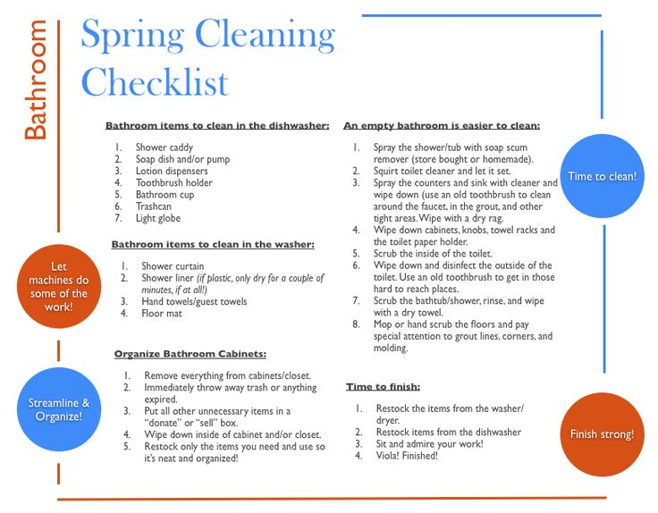 Best 25+ Spring cleaning bathroom ideas on Pinterest Spring - spring cleaning checklist