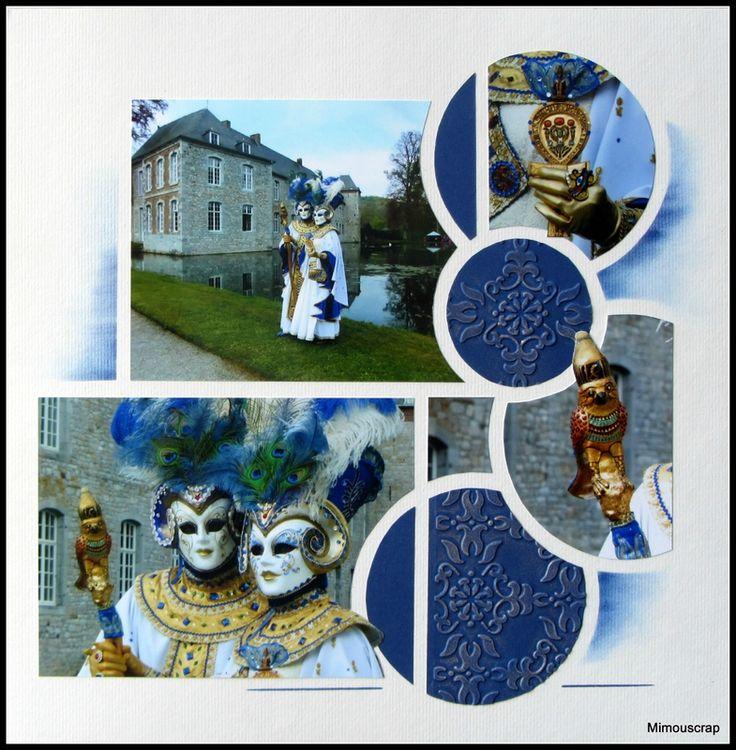 Annevoie et ses costumés vénitiens - Têtes de béliers
