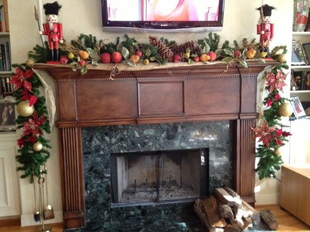 simple diy fall mantel decoration large pine cones marble fireplace mounted tv of Delightful Fall Mantel Decorations