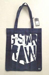 G-STAR-RAW-LIBRARY-DENIM-BAG-TOTE-HANDBAG-NWT-UNIQUE-COLLECTORs-ITEM