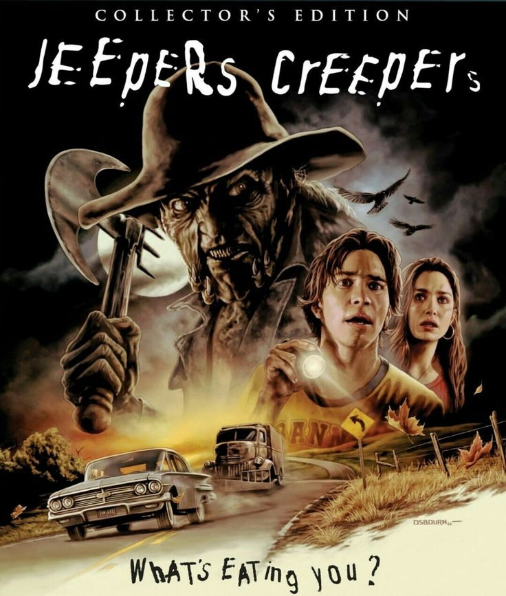 Jeepers creepers horror movie poster Collector edition