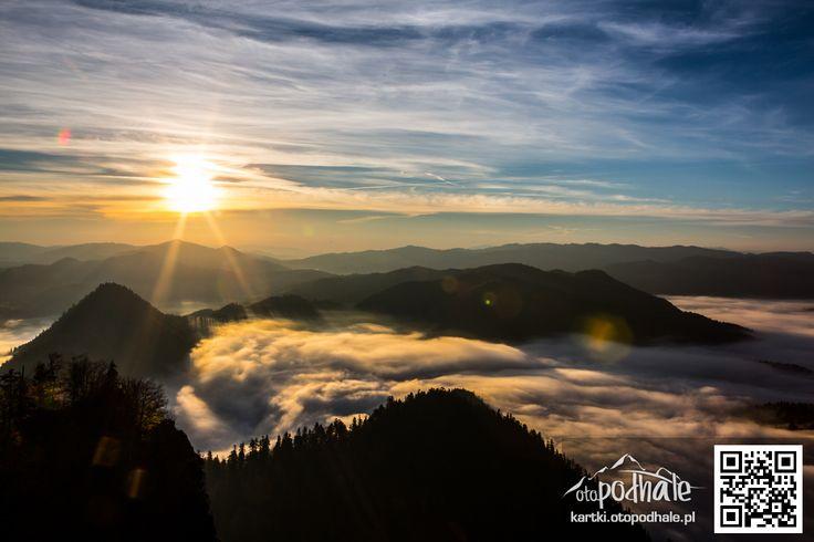 Wschód słońca na Trzech Koronach