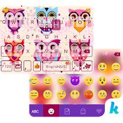 Free Download Cute Owls Emoji Keyboard 16.0 APK - http://www.apkfun.download/free-download-cute-owls-emoji-keyboard-16-0-apk.html