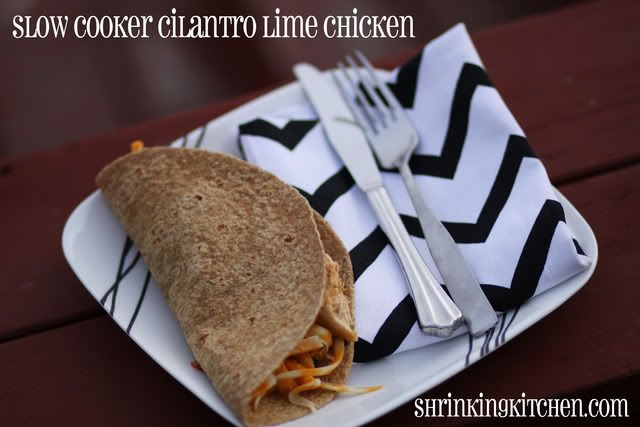 Slow Cooker Cilantro Lime Chicken!: Crock Pot, Fun Recipes, Cooker Cilantro, Mr. Tacos, Slow Cooker Chicken, Crockpot, Cilantro Limes Chicken, Limes Chicken Tacos, Cilantro Lime Chicken