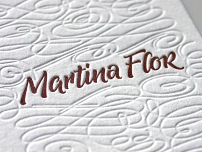 39 best letterpress images on pinterest business cards carte de martina flor business cards colourmoves