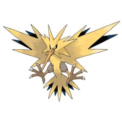 Zapdos - #145 - Electric and Flying Type