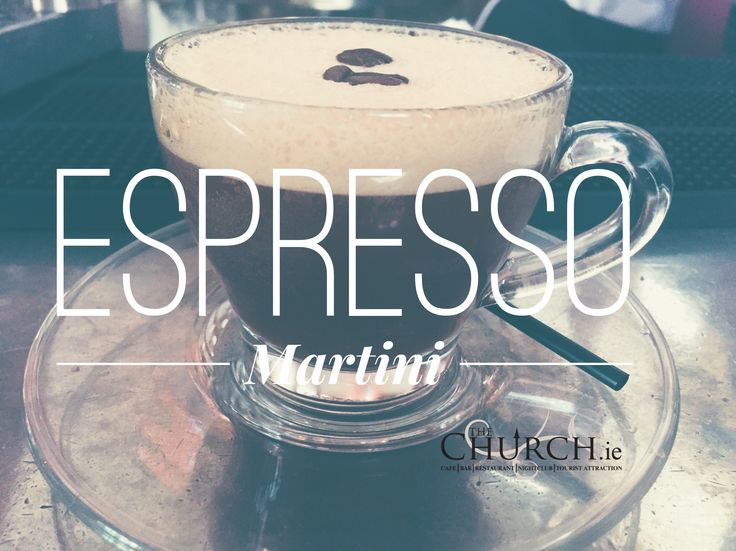 Our Espresso Martini served in a cup. Nobody will know what you're having #Coffee #Cocktails #Dublin #TheChurchDublin
