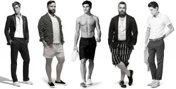 ¿Qué tipo de cuerpo tienes? Cómo vestir bien, hombres, según tu tipo de cuerpo