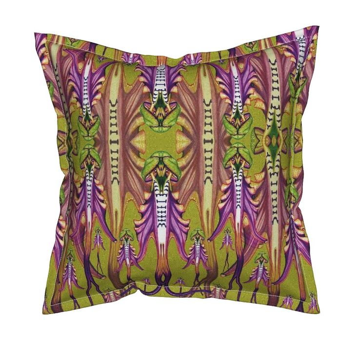 Serama Throw Pillow featuring H.Montis-Tauri by joancaronil   Roostery Home Decor