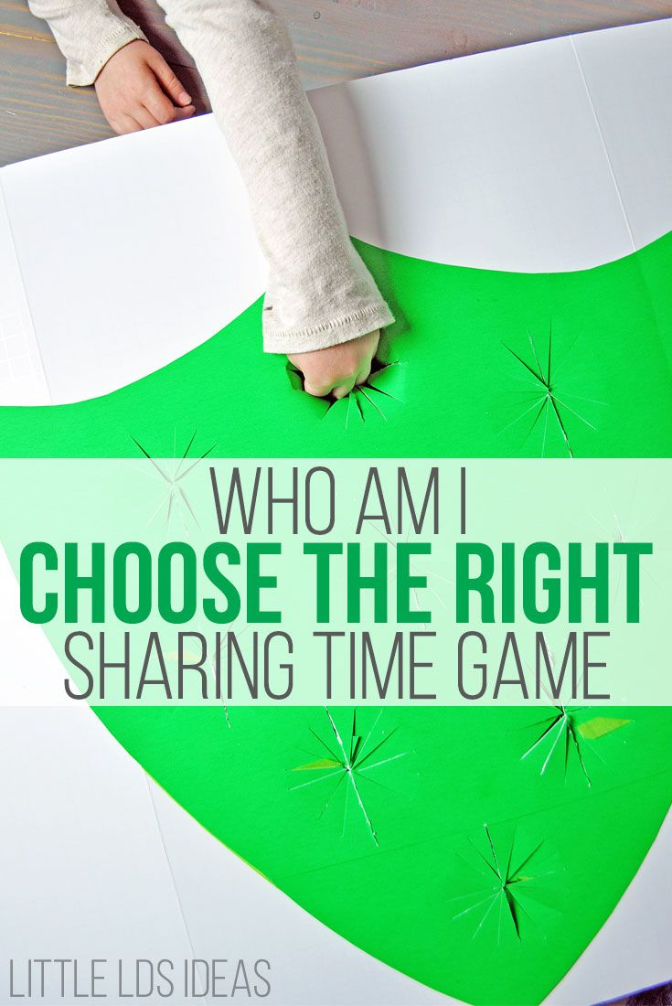 February 2017 Week 2 Sharing Time Idea. Jesus's Disciples Were Blessed by Choosing the Right. Great Sharing Time Idea from Little LDS Ideas  via @https://www.pinterest.com/littleldsideas/