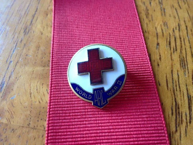 American Red Cross Domestic Service Pin