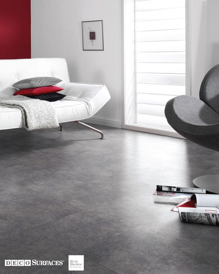 les 25 meilleures id es de la cat gorie plancher vinyle. Black Bedroom Furniture Sets. Home Design Ideas