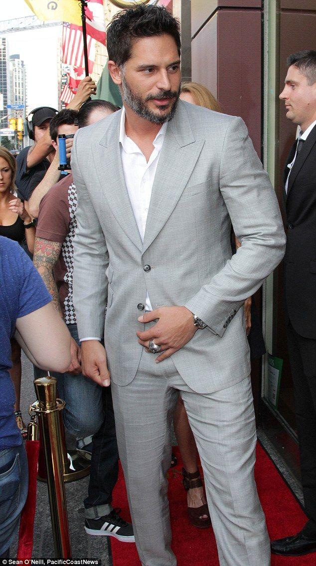 Popular actor: Joe portrays werewolf Alcide Herveaux in HBO's True Blood