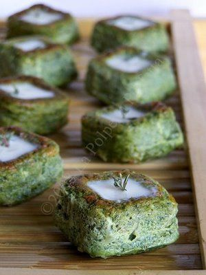 La Polpetta Perfetta: Sformatini di spinaci e scamorza affumicata