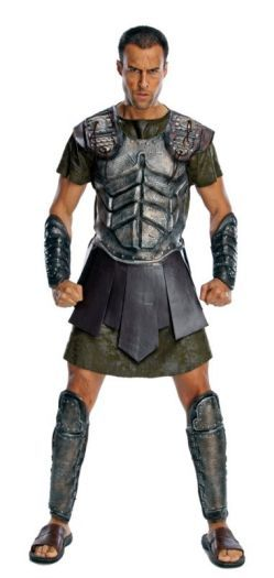 Wish I had this for valentine's day!!  Adult Titans Deluxe Gladiator Perseus Mens Fancy Dress Party Costume