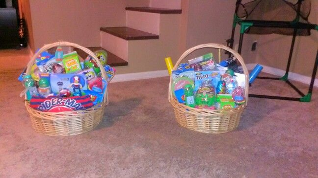 Easter Baskets for Boy Toddlers