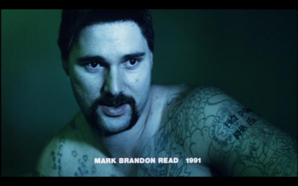 "Eric Bana plays Mark Brandon Read a.k.a. Chopper in the movie ""Chopper"""