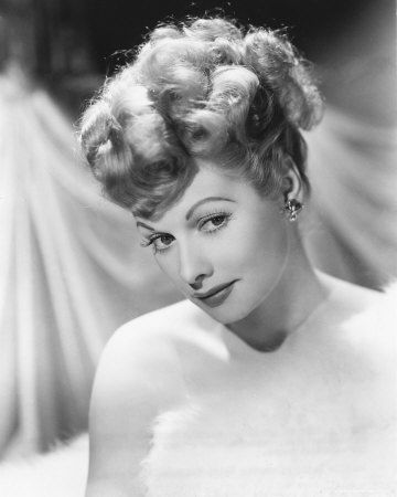 Lucille Ball, a glamor photo of a young Lucille Ball http://lucille-ball.info/biography-of-lucille-ball/ #LucilleBall