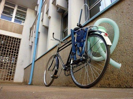 Sanergy Bicycle Powered Poo Pump
