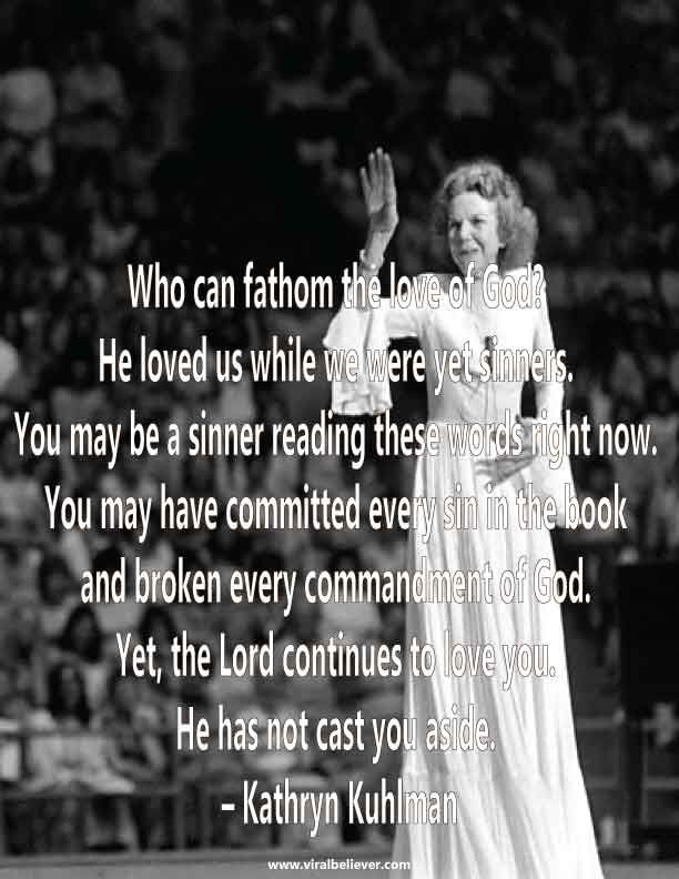 From Kathryn Kuhlman Quotes Related Keywords & Suggestions