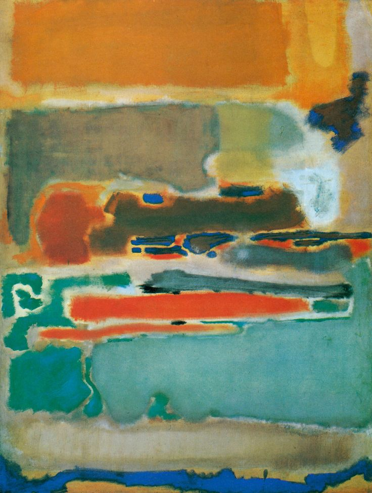 """ Mark Rothko, Untitled, 1947 """