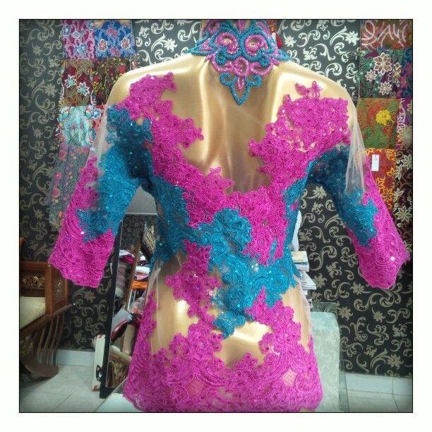 Pink blue -back