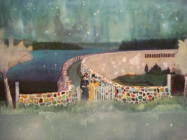 Scottish painter Peter Doig is a well-known figurative painter who's landscapes have a magical tinge. Doig now lives in Trinidad, so many of his piece...