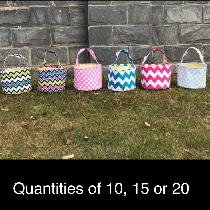 A personal favorite from my Etsy shop https://www.etsy.com/listing/502139847/wholesale-canvas-easter-basket-easter