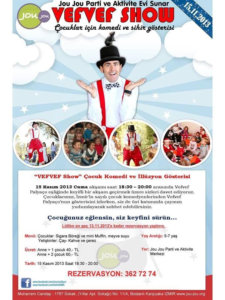 Vefvef Show - Çocuk Komedi ve Sihir Gösterisi