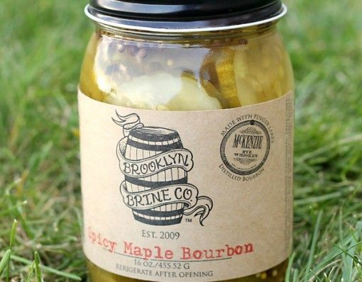 Brooklyn Brine Spicy Maple Bourbon Pickles/ Who doesn't like pickles! These juicy, Spicy Maple Bourbon Pickles are perfect for any pickle lover. Some pickles are for sandwiches, some are for eating alone, Brooklyn Brine Spicy Maple Bourbon Pickles are for... http://shopfor20.com/product/brooklyn-brine-spicy-maple-bourbon-pickles/