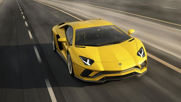 It's big, it's bold, it's yellow and it's fast. Lamborghini have unveiled the 730bhp Aventador S and it's stunning. Take a look!