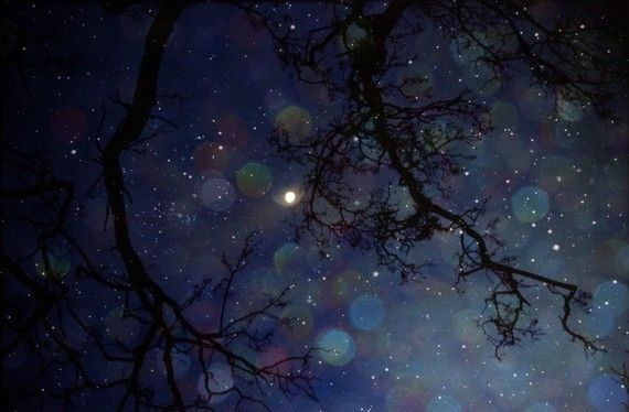Magical dreamy  night sky photograph  In the fields by InmostLight, $22.00