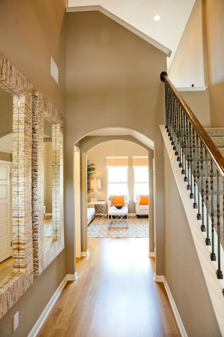 Fall In Love With A Gorgeous Neutral Entryway This Cedar Park Home Adding
